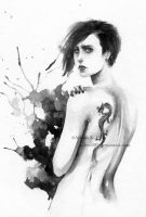 The Girl with the Dragon Tattoo by Achen089