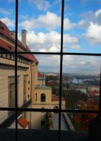 Czech checked view, prague by StillWilde