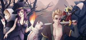 Epic Quest Of The 4 Crystals by Lina01