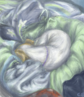 snuggle :3 by chastened