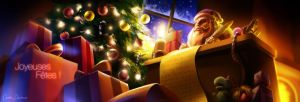 Happy Christmas ! by absinthe-girl