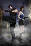 #1998... I'll never forget it... Raccoon City by DemonLeon3D
