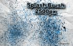 Splash Brush by bellapester