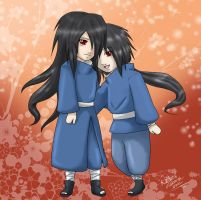 Madara and Izuna - Commission by YumeSamasLover