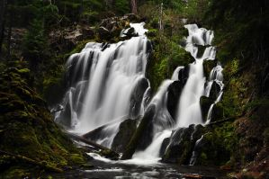 National Creek Falls, Study #2 by greglief