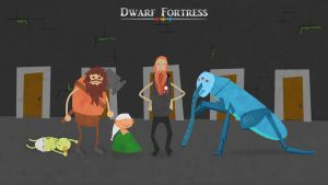Dwarf Fortress Wallpaper by Rotfish