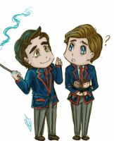 Klaine-Wizards... by kironomi