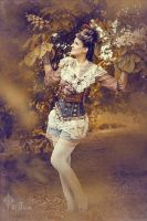 Steampunk in the parc Nr.1 by S-T-A-R-gazer