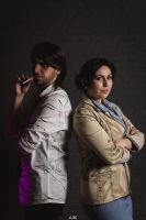 The Wolf Among Us - Bigby and Snow Cosplay by Snakethoot