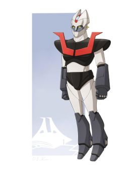 Mazinger restyling by DeVinc79