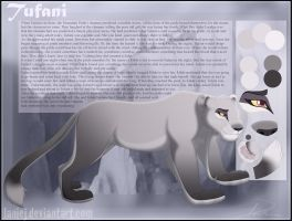 Tufani Character Reference! by LanieJ