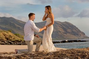 Engagement proposal photography by Callejafoto