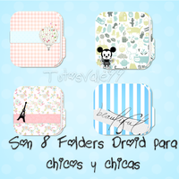 Folders Droid para Chicos y Chicas by TutosVale99