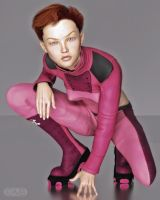 Crouching In Pink (v1.0) by kmcbriarty