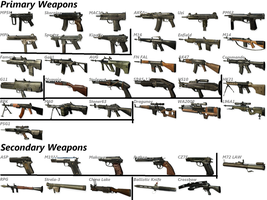 All Black Ops Weapons by COD-Halo