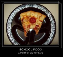 school food demotivate by MABCOW