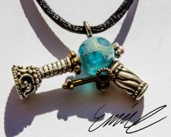 Ray Gun Necklace (1) by BlindCaius