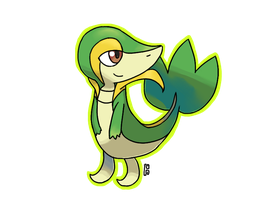 Snivy by Nouchie