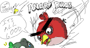 Angry Birds Sketch by shaocloud
