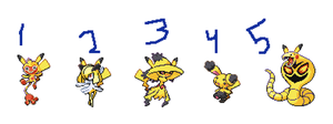 Pikachu Themed Fusions! {{CLOSED}} by The-Insane-Puppeteer