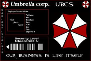 U.B.C.S. Umbrella ID Template by purplepuddlenut