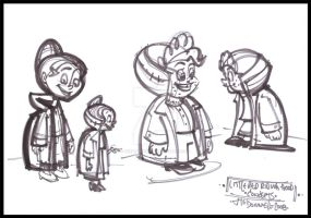 Character Development Sketch by Cre8tivemarks