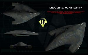 Devore Warship ortho by unusualsuspex
