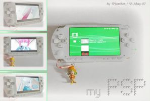 my PSP 3 by sjupiter-belcha