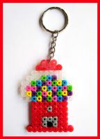 Gumball Machine Keychain 2 by cherryboop