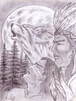 My native American indians by Shadow3217