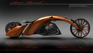 custom bike by konkon49