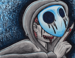 Eyeless Jack by InsanelyADD