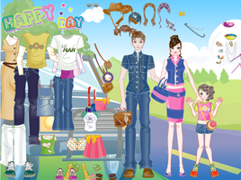 Happy Day Couple Picnic - Dress up Games by willbeyou