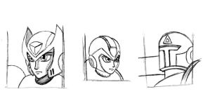 MMX Faces (Remade) by MDTartist83