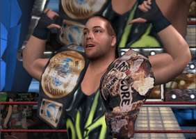Rob Van Dam Here Comes the Pain Hardcore Champion by Paynexkiller