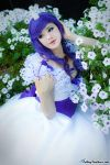 Rarity, in bloom by HollyGloha