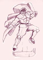 Street Fighter M.Bison by Shadaloo1989