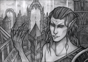 Welcome to Otherland - Pencilwork by Marsuministeri