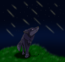 Crying Sky by WolfArtC