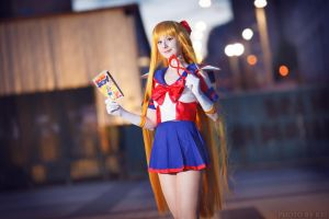 Sailor V:manga hero by LoveSenshi