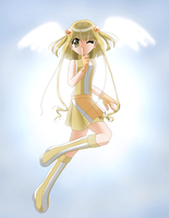 Citrine-Sun Angel by Pearlypuff