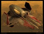 Star Wars EP3 Star Fighter by NAngel1298