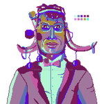Tribe  Gentleman - Sprite 6 by MihneaSto