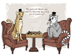Cheating Cheetah by Rimfrost