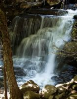 Falls on Spruce Creek by TPHGlenwoodPhoto