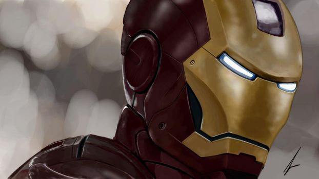 IRON MAN by sowmiles