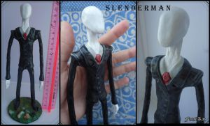Slenderman figure by MaryDec