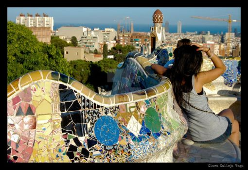 Parc Guell 3 by Kiroa