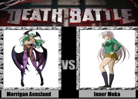 Death Battle idea Morrigan Aensland vs Inner Mok by PRS3245