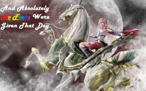 No F***s Were Given That Day (Lightning Farron) by RadiantSilhouette